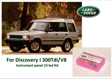 LAND ROVER DISCOVERY I 300 Tdi/V8 94 - 98 instrument panel 23 LED KIT