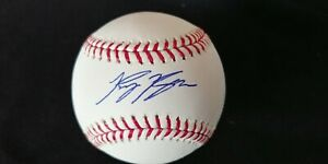 Perfect 10 Ryan Braun signed OML baseball JSA COA H56163 Milwaukee Brewers