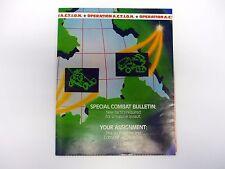 GI JOE OPERATION ACTION CATALOG Brochure Booklet A.C.T.I.O.N. COMPLETE 1987