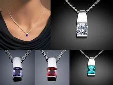 Cubic Zirconia Crystal Beauty Costume Necklaces & Pendants