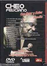 DVD Cheo Feliciano YO NO SOY UN ANGEL anacaona RATON a las 6 AMADA MIA entierros
