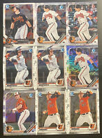 Baltimore Orioles Bowman Lot X46 Ryan Mountcastle Henderson McKenna Yusniel Diaz