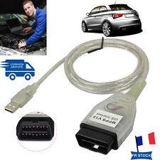 MPPS V13.02 Câble USB OBD2 de voiture VAG d'interface pour VW AUDI BMW Citroen
