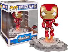 FUNKO POP! - MARVEL-Vengadores-Iron Man-Diorama Deluxe Edition -
