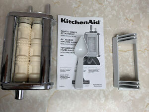 KitchenAid Ravioli Maker Attachment Stainless Steel for Stand Mixer NO BOX