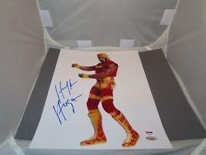 Hulk Hogan Signed 11x14 Photo Autographed Hulkamania PSA/DNA COA 1B