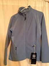New With Tag Snozu High Performance Blue Fleece Zip Up Jacket Small