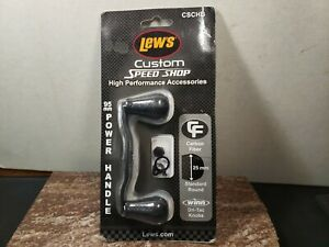 Lews Carbon Fiber Reel Handle 95mm - CSCHB - Bowed Handle