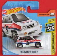 Hot Wheels 2018   ´85 HONDA CITY TURBO II  68/365 NEU&OVP