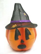 Partylite.Mr. Pumpkinhead.Tealight.Hold er W/ Magnetic Face Pieces.New P9774