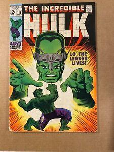 Incredible Hulk #115 Hulk vs. the Leader! I Combine Shipping!
