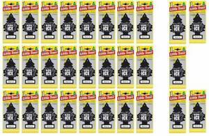 16 Little Tree Black Ice Fragrance Car Air Freshener Home Decoration Scent Set