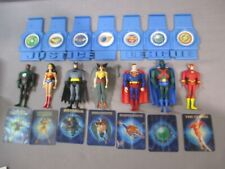 Justice League Animated WONDER WOMAN BATMAN FLASH SUPERMAN HAWKWOMAN lot JLA DC