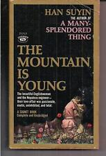 THE MOUNTAIN IS YOUNG ~ SIGNET T1717 1959 1ST HAN SUYIN ROMANCE NEPAL ENGINEER