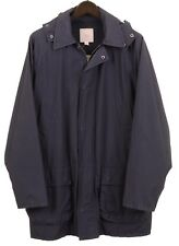 Brooks Brothers Navy Blue Broken-In Garment Dyed Yachting Parka Coat Jacket M