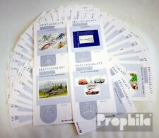 BRD (BR.Duitsland) 2002 Esttagsblatt Complete Deel in schoon Conservation