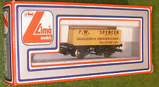 LIMA TRAINS RAILWAY OO GAUGE WAGON 305632 P.W. SPENCER 7-PLANK