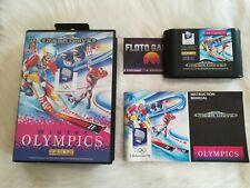 Jeu Winter Olympics pour Sega Megadrive PAL Complet CIB - Floto Games