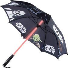 Star Wars Regenschirm  Lichtschwert Länge ca. 70 cm Ø ca. 86 cm
