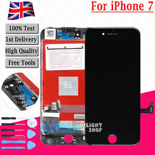 Black LCD Screen For Apple iPhone 7 Touch Digitizer Display + Frame Assembly UK