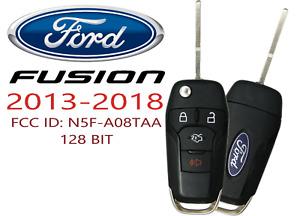 NEW Ford Fusion 2013 - 2018 Remote Flip Key Fob FCC ID: N5F-A08TAA 128 BIT
