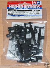 Tamiya 53674 Adjustable Upper Arm Set (TT01, TGS)(TT-01/TT01D/TT01E/TT01ES) NIP
