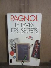 Marcel Pagnol: Le Temps des secrets; Souvenirs d'enfants, Presses Pocket 1976