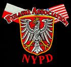 NYPD NYC Police Department New York City T- Shirt Sz XL NEW Pulaski Association