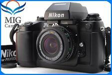 Rare!!【MINT!!】NIKON F4 35mm Camera w/Soligor wide 28mm F/2.8 from JAPAN 608