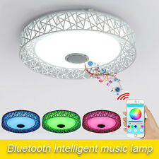 Bluetooth 4.0 LED Ceiling Lamp Intelligent Music Color Changing Light Fixtures