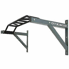 DTX Fitness Multi Grip Wall Mounted Pull Up Bar