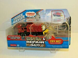 Fisher Price THOMAS & FRIENDS RAILWAY CRASH & REPAIR SALTY New MIB
