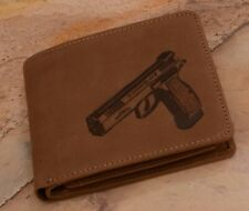 CZ Shadow 2 Genuine Men's Leather  Wallet Case :: High Quality Product