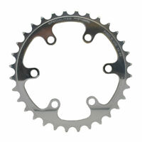 Specialites TA Cyclotourist Pro 5 Vis Cycle Inner Chainrings Silver