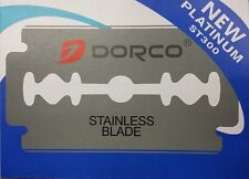 Dorco Double Edge Razor Blades - Stainless Blades 100 pcs Barber Supplies