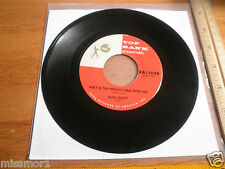 1959 Jack Scott Top Rank 45 Record 2028 VG++ What in the World's come over you