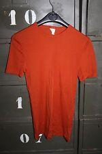 Sous Vêtement Tee Shirt Homme Polichinelle Dropnyl orange Taille 1 Vintage neuf
