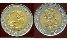 PORTUGAL 100 escudos  1991