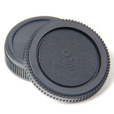 Plastic Set Rear lens Body cap for Olympus Camera OM 4/3 E620 E520 E510 MA