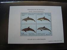 MONACO - timbre - yvert et tellier bloc n° 56 n** (Z2) stamp monaco