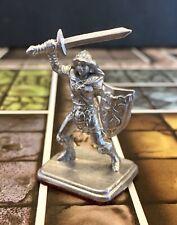 Heroquest Female Barbarian Metal Game Piece Felt Base