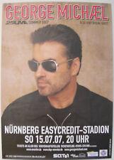 George Michael Concert Tour Poster 2007 Wham