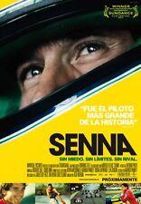 Senna International Movie Poster 24x36in Ayrton Senna
