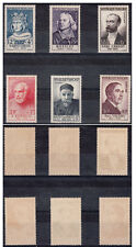 FRANCIA 1953 Celebrità Celebrities 6 Valori Integra MNH** Unificato 989-94