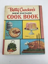 BETTY CROCKER'S NEW PICTURE COOK BOOK 1ST EDITION 5th PRINTING 1961 VGC