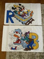 Mickey Mouse Set Standard Pillow Cases Bedding Pacific Excellent