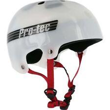 Protec Bucky Lasek Skateboard Skate Park Helmet TRANS WHITE XL-59-60cm