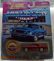 Johnny Lightning Muscle Car U.S.A 1966 Chevy Malibu With Tracking