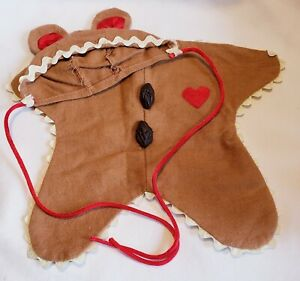 """Ginger Beary"" Costume Outfit for 9"" Bear or Doll 1994 THTNEW Christmas"