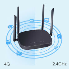 X11 4G LTE Smart WiFi Router Repeater 300Mbps SIM Card CPE W/ 4 Antennas Openwrt